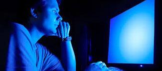 LED lumière bleu